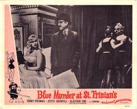 Publicity poster Sabrina in Blue Murder at St Trinian's