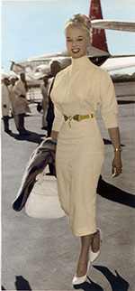 Sabrina arrrives in Brisbane 1959