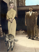 Sabrina and Skippy - Brisbane 1959