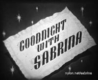 Goodnight with Sabrina