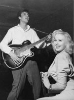 Sabrina and Marty Wilde 1957