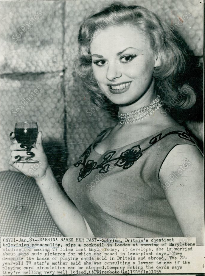 The Life of Sabrina (Norma Sykes) 1955