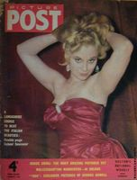 Sabrina on the cover of Picture Post
