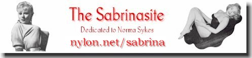 Sabrina banners and buttons